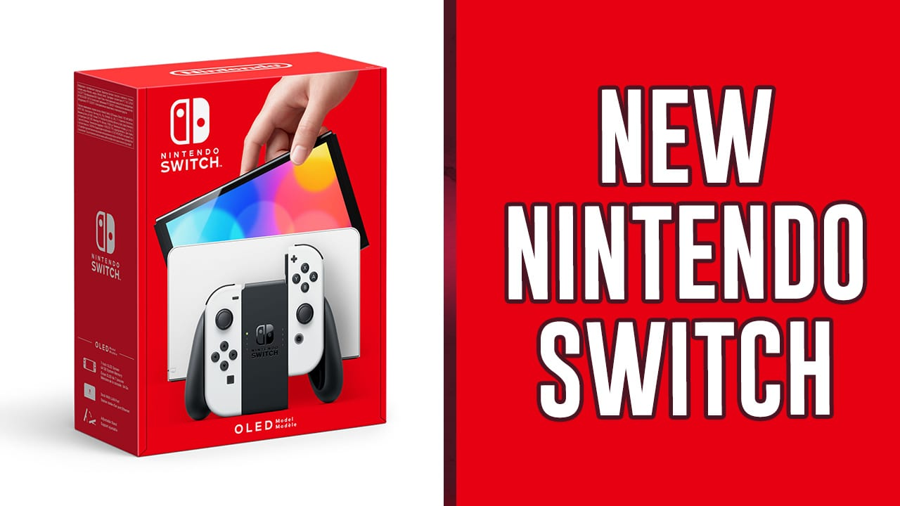 Nintendo Switch OLED Revealed But It's Not What You Were Expecting
