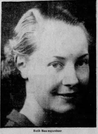 1937: The curious case of Ruth Baumgardner