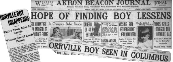 1928: Missing Melvin Horst