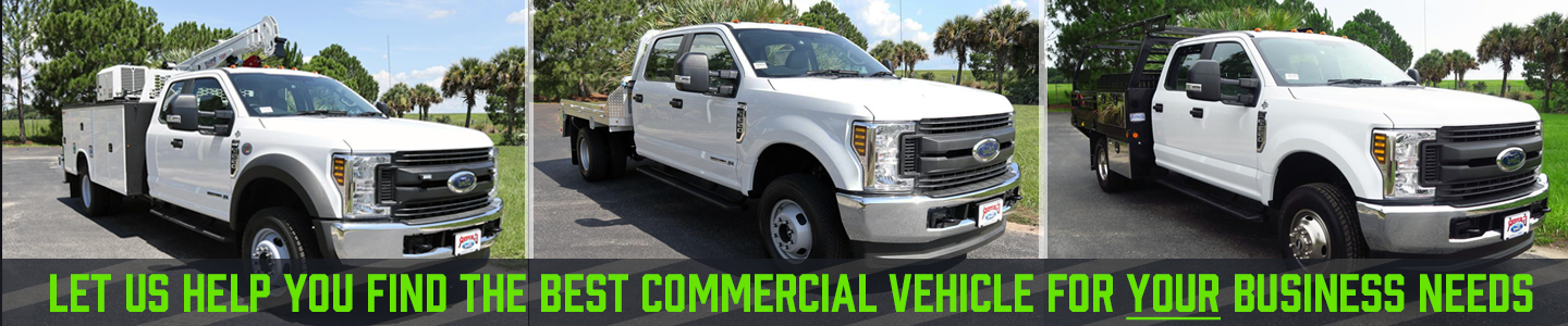 Commercial Trucks Available 3 F-350, F-550 Crane truck