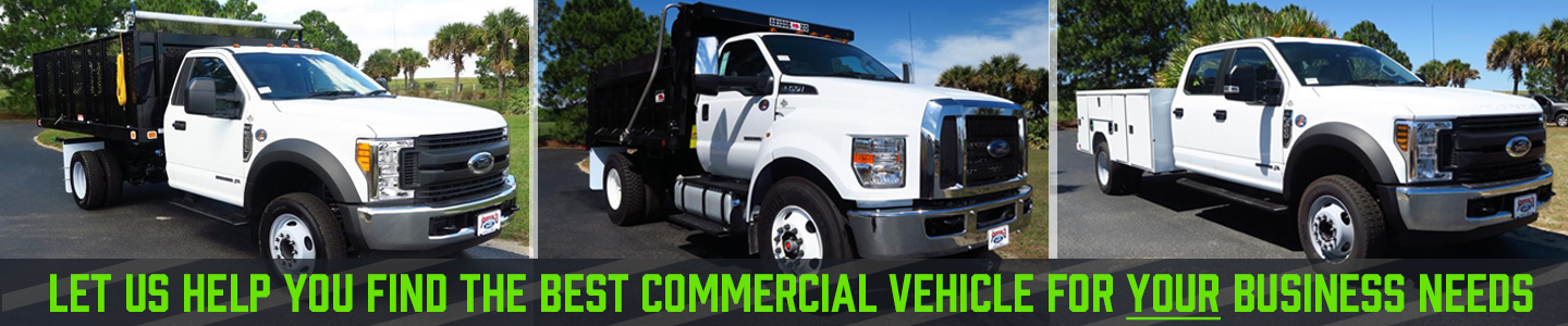 Commercial vehicles group of 3, 450 550 750