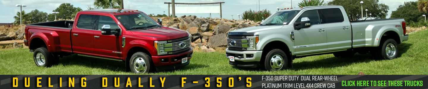 Dueling Dually F-350s