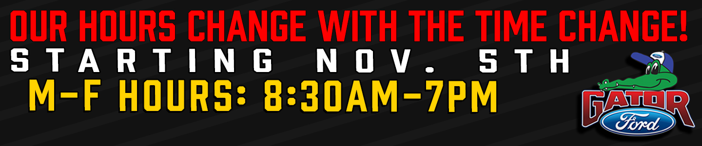 Time Change Banner