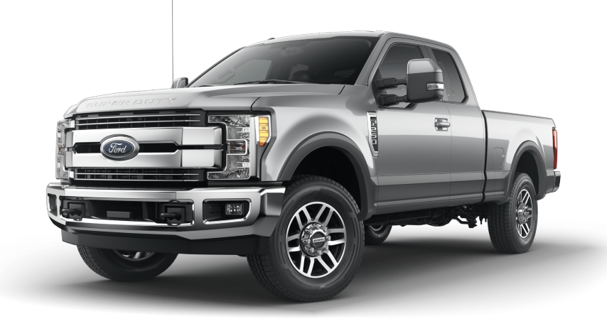2019 Ford Super Duty 2 tone Ingot Silver with Magnetic