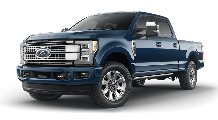 2019 Ford Super Duty Blue Jeans Metallic