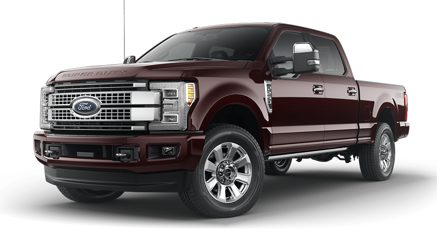2019 Ford Super Duty Magma Red
