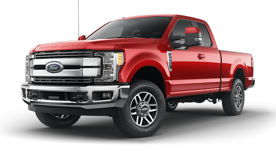 2019 Ford Super Duty Race Red