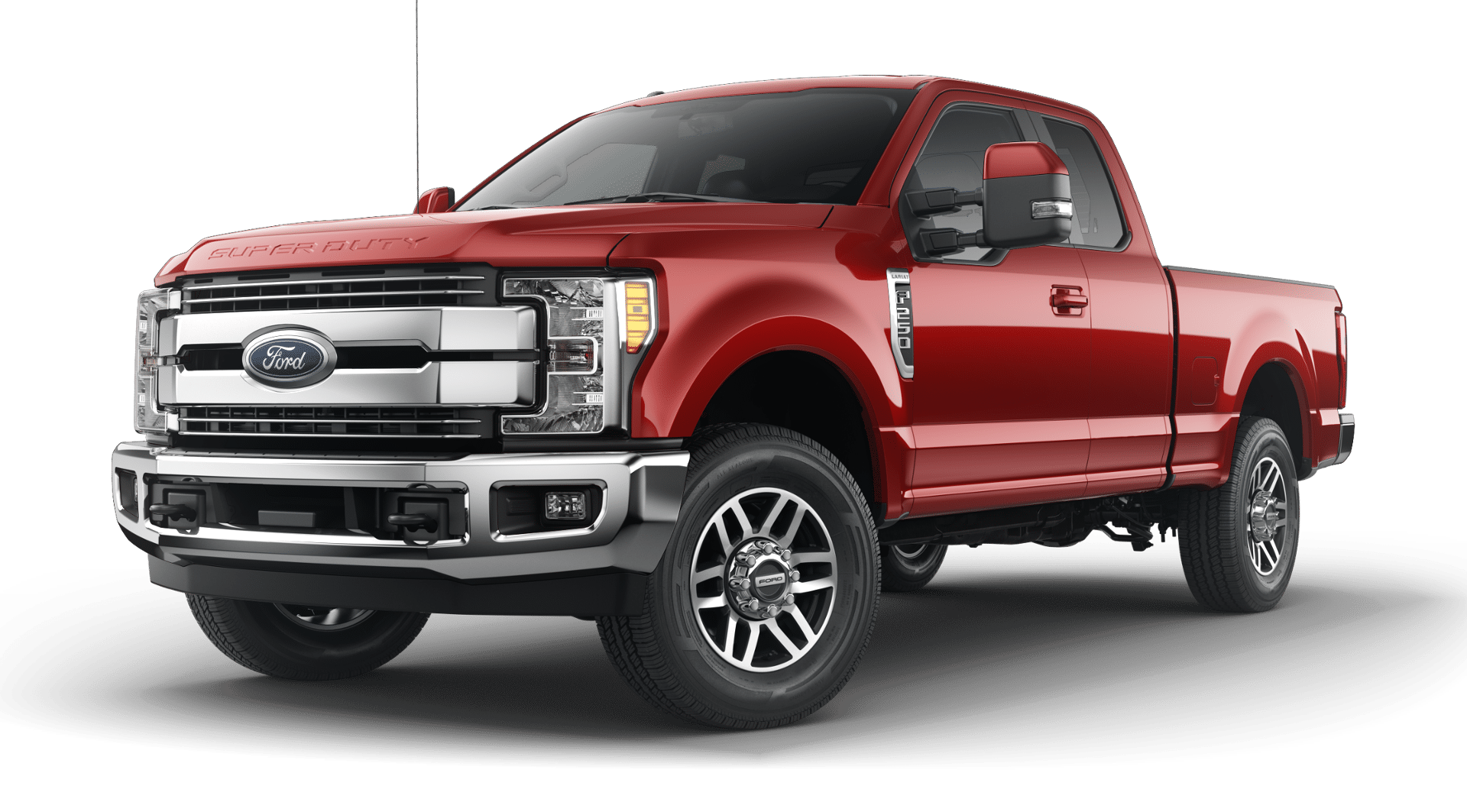 2019 Ford Super Duty Ruby Red