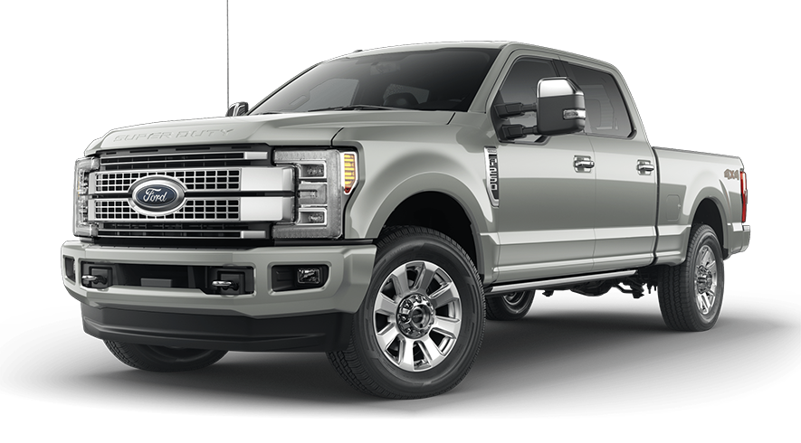 2019 Ford Super Duty Silver Spruce