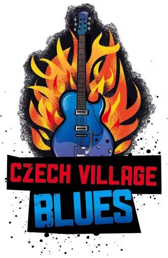 Czech v blues logo