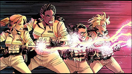 Ghostbusters: Answer the Call comic from IDW Publishing