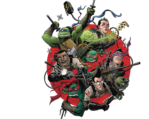 Teenage Mutant Ninja Turtles Ghostbusters 2 from IDW Publishing