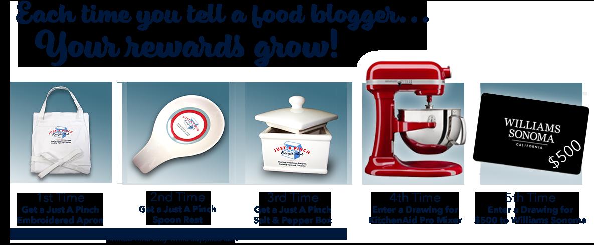 Ambassador Program Recipe Box Promotion
