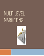 Мултилевъл маркетинг