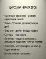 Чернодробна цироза