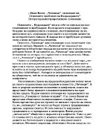 Иван Вазов- Чичовци- снизяване на основните проблеми на Възраждането