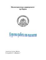 Екологични проблеми в област Стара Загора