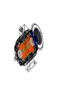 Проект на електромотор на Autocad