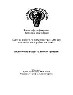 Политически имидж на Никола Груевски