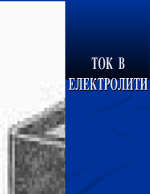 Ток в електролити - презентация