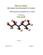 Методическа разработка на тема Глюкоза