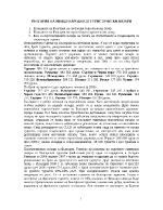 Позициите на България на световния туристически пазар