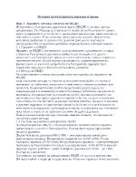 Развит конспект по история на българската държава и право