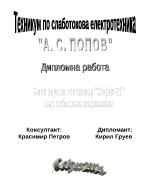 Блок звук за телевизионен приемник София 21