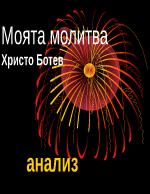 Моята молитва-Христо Ботев
