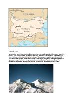 Природни забележителности в България на Английски език език