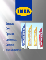 Презентация за Икеа