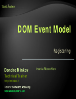 DOM Event Model