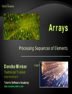 Javacript Arrays