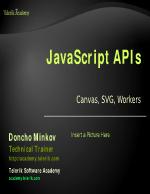 JavaScript APIs