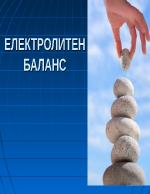 Електролитен баланс