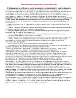 Организация и управление на агрофирма