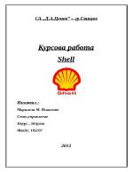 Икономически анализ на фирма Shell
