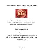 Досие на сделка за международна продажба на тютюн