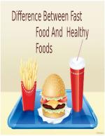 разликите между здравословното и вредното хранене