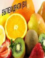Въглехидрати