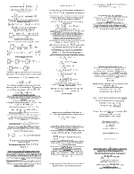 Пищови по Висша математика 2