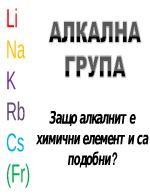 Алкална група