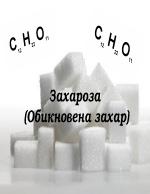 Захароза Обикновена захар