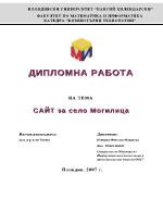 Сайт за село Могилица