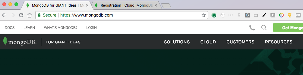 Hello World app - MongoDB Atlas and App Engine flexible environment