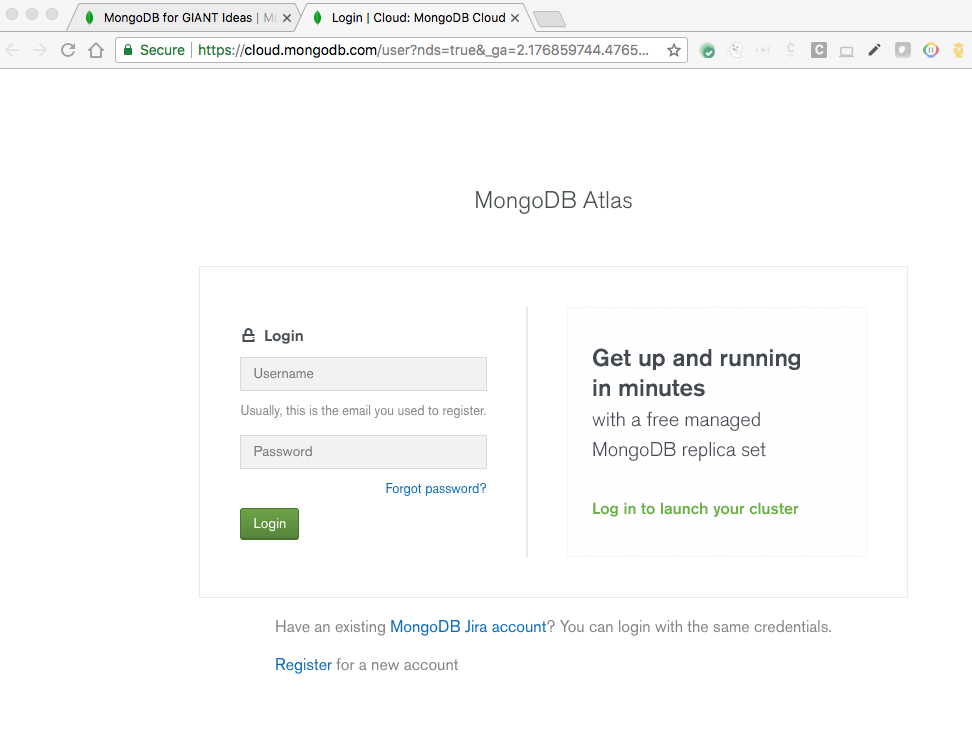 Hello World app - MongoDB Atlas and App Engine flexible