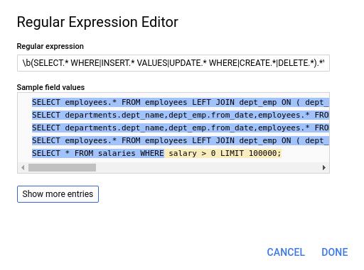 regularexpression