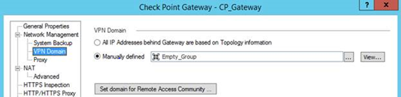 How to Set Up VPN Between Check Point Security Gateway and