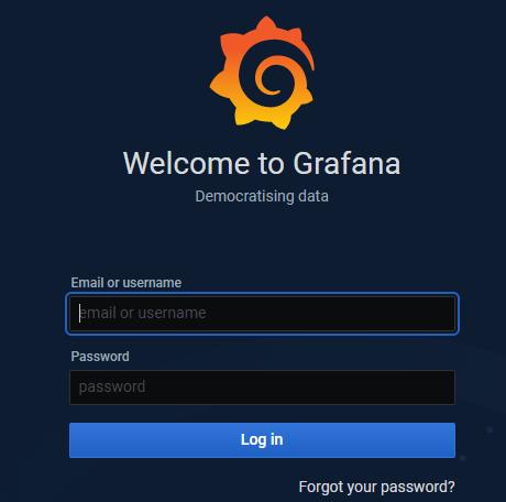 grafana-login