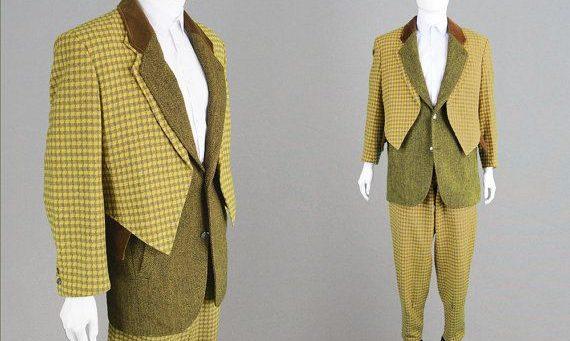 Yamamoto Tweed Suit